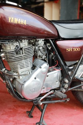 XTSTART sur une SR500