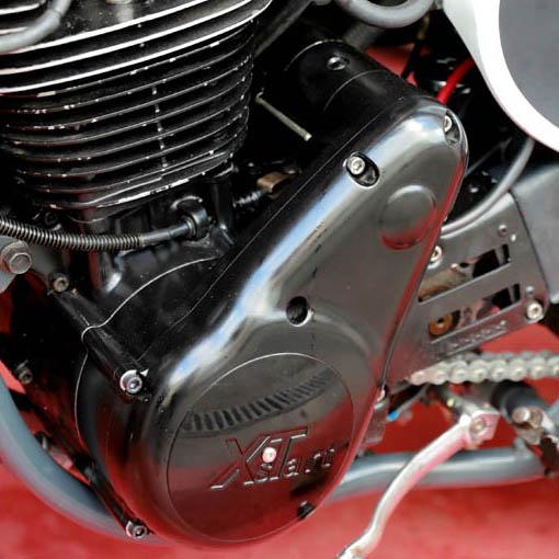 Kit démarreur Xstart pour Yamaha XT500 sur moto